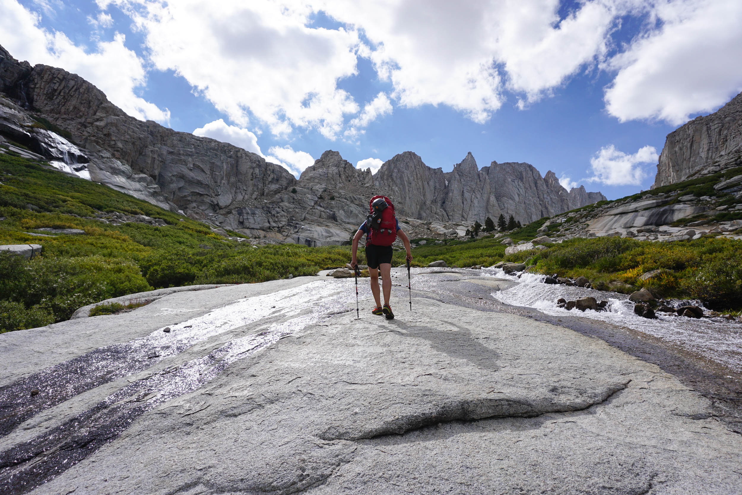 A beautiful hike up to base camp